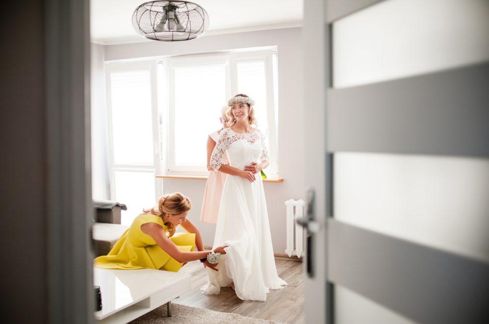 Marta i Michał, ceremonia ślubu i sesja plenerowa